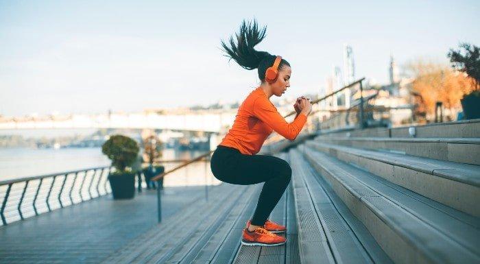 aktywność fizyczna na schodach