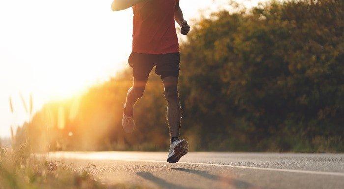 bieganie zmniejsza lęk