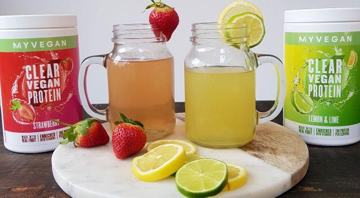 果汁般口感的純素新品 | 純素透明分離蛋白粉