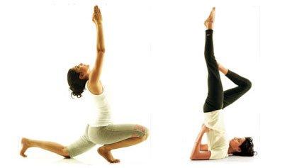 瑜珈體位法