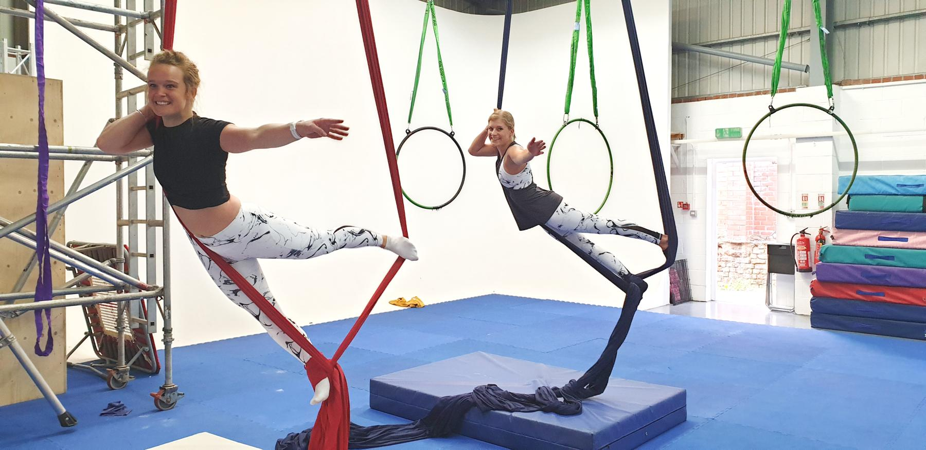 We Tried Aerial Arts | This Is How You *REALLY* Get Fit