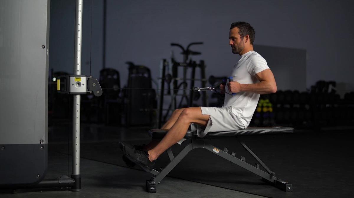 Seated Cable Row Machine | Technique and Variations
