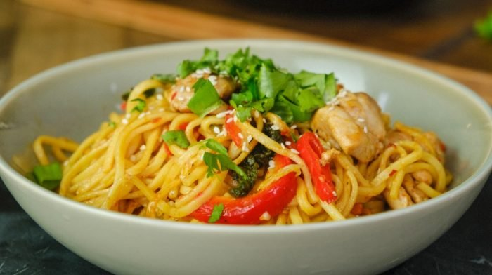 Sweet Chilli Chicken Noodles