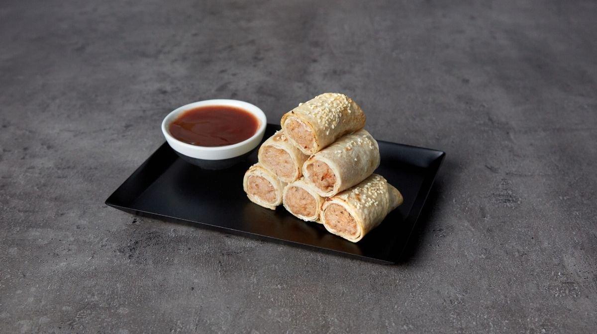 Healthy Sausage Rolls   Festive Snacks