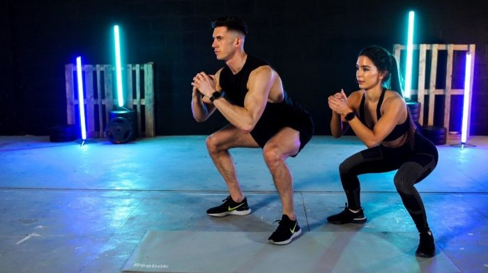 Work Out From Home   20-Minute Build Muscle Workout