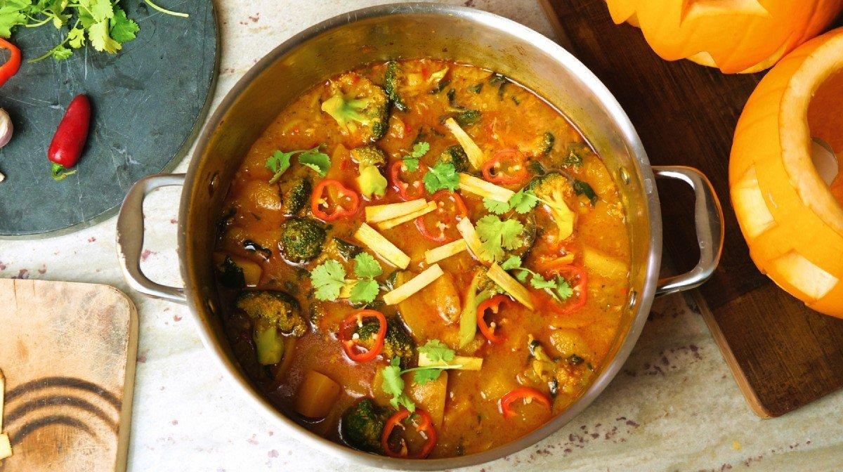 Pumpkin Thai Red Curry