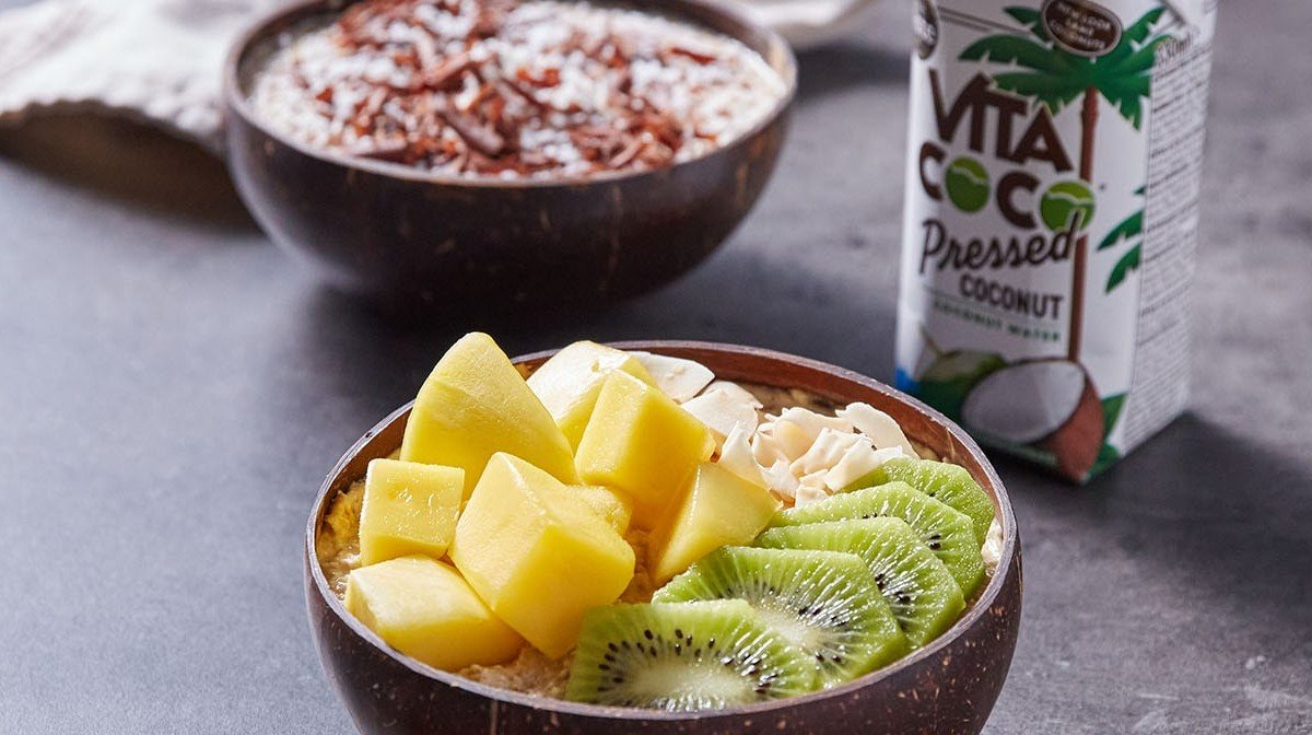Overnight Oats 2 Ways | Vita Coco X Myprotein Kitchen
