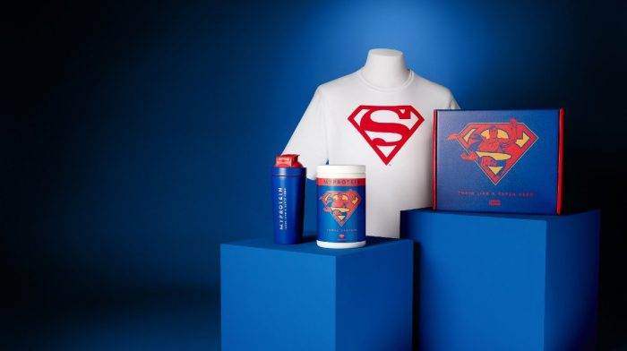 Train Like A Superhero With Limited Edition Superman Protein Set