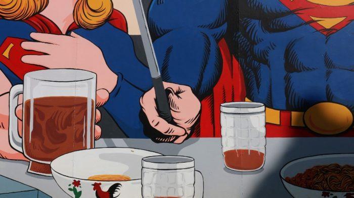 We Counted Superman's Macros In His Weirdest Meals