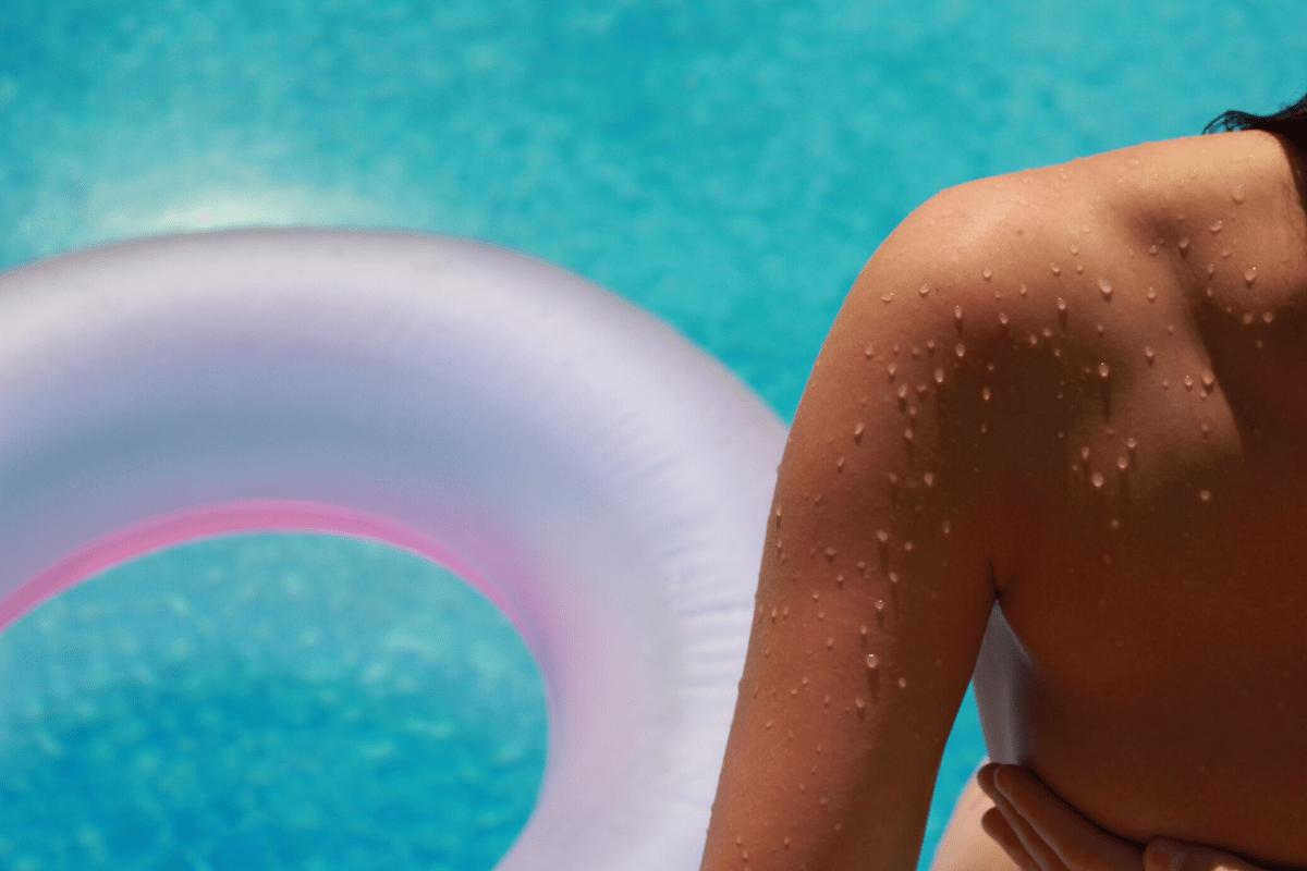 dry skin summer