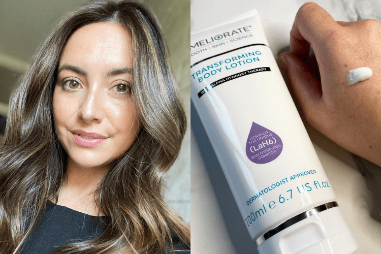 Image of Gillian and Transforming Body Lotion Warm Amyris