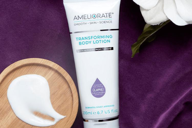 transforming body lotion warm amyris texture