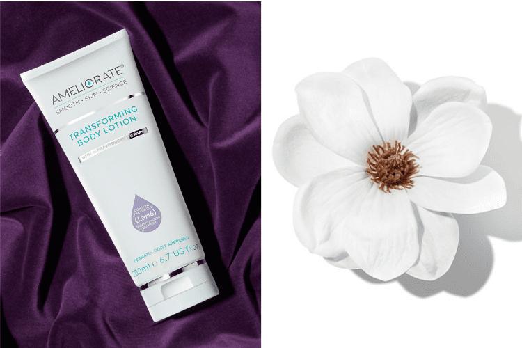 Transforming body lotion warm amyris new fragrance