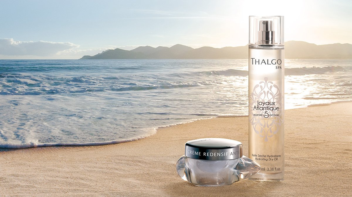 Let the sea empower your beauty with Thalgo