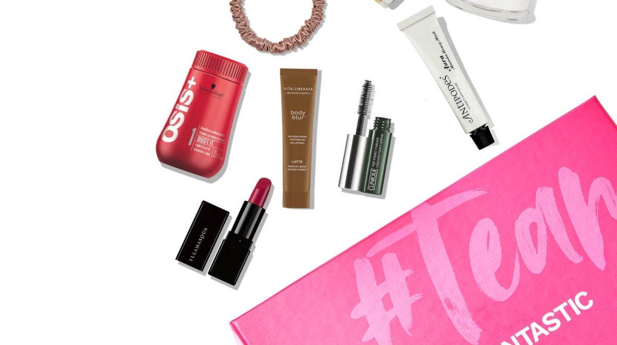 A look inside the LOOKFANTASTIC Australia Birthday Beauty Box