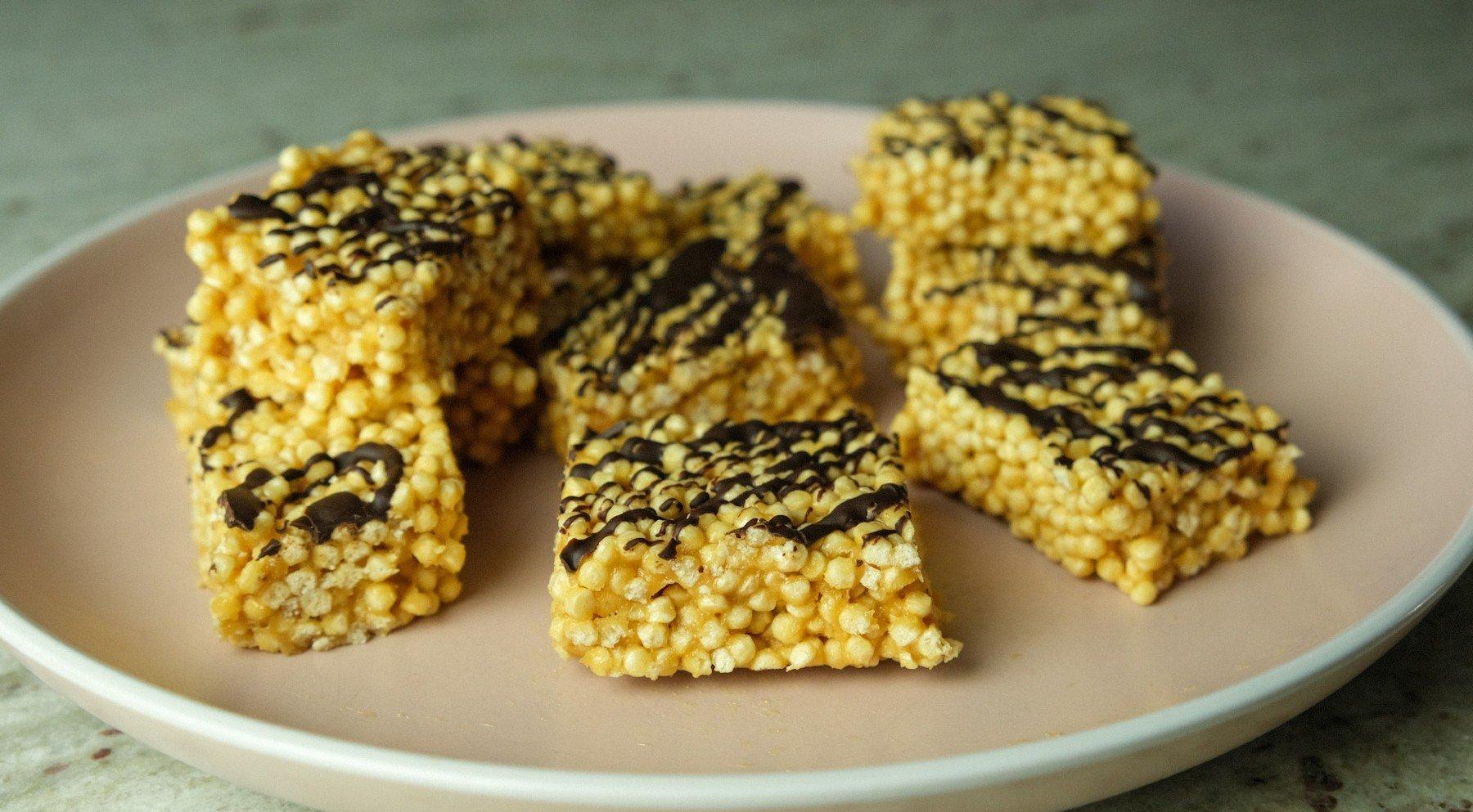 Nepečené Proteínové Chrumkavé Kocky - Crispies