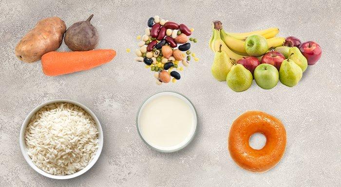 potraviny nevhodné do keto diéty