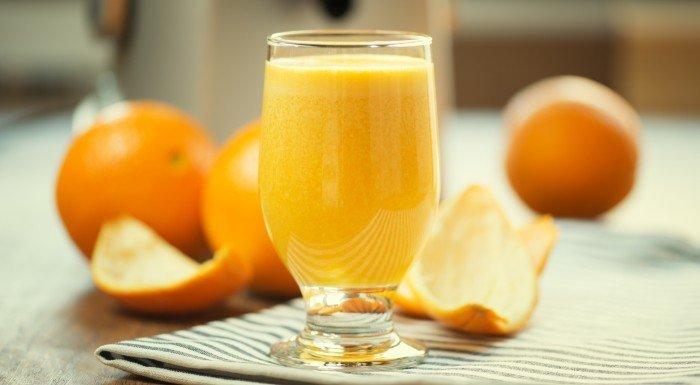 Ovocná šťava - šťava z pomaranča