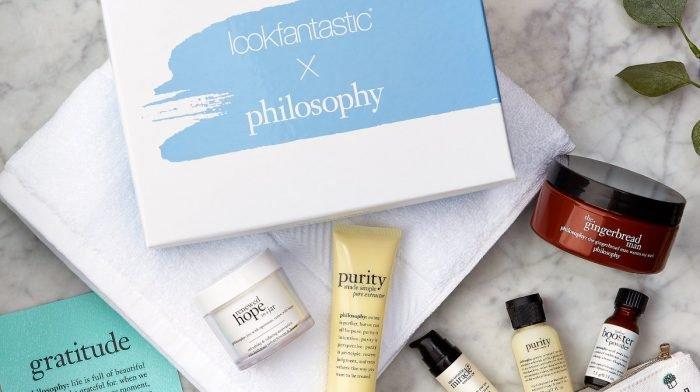 Limited edition: lookfantastic x philosophy Beauty Box