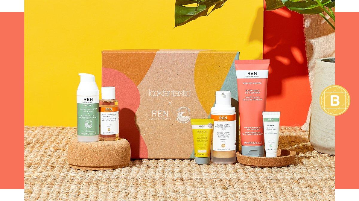 De lookfantastic x REN Limited Edition Beauty Box