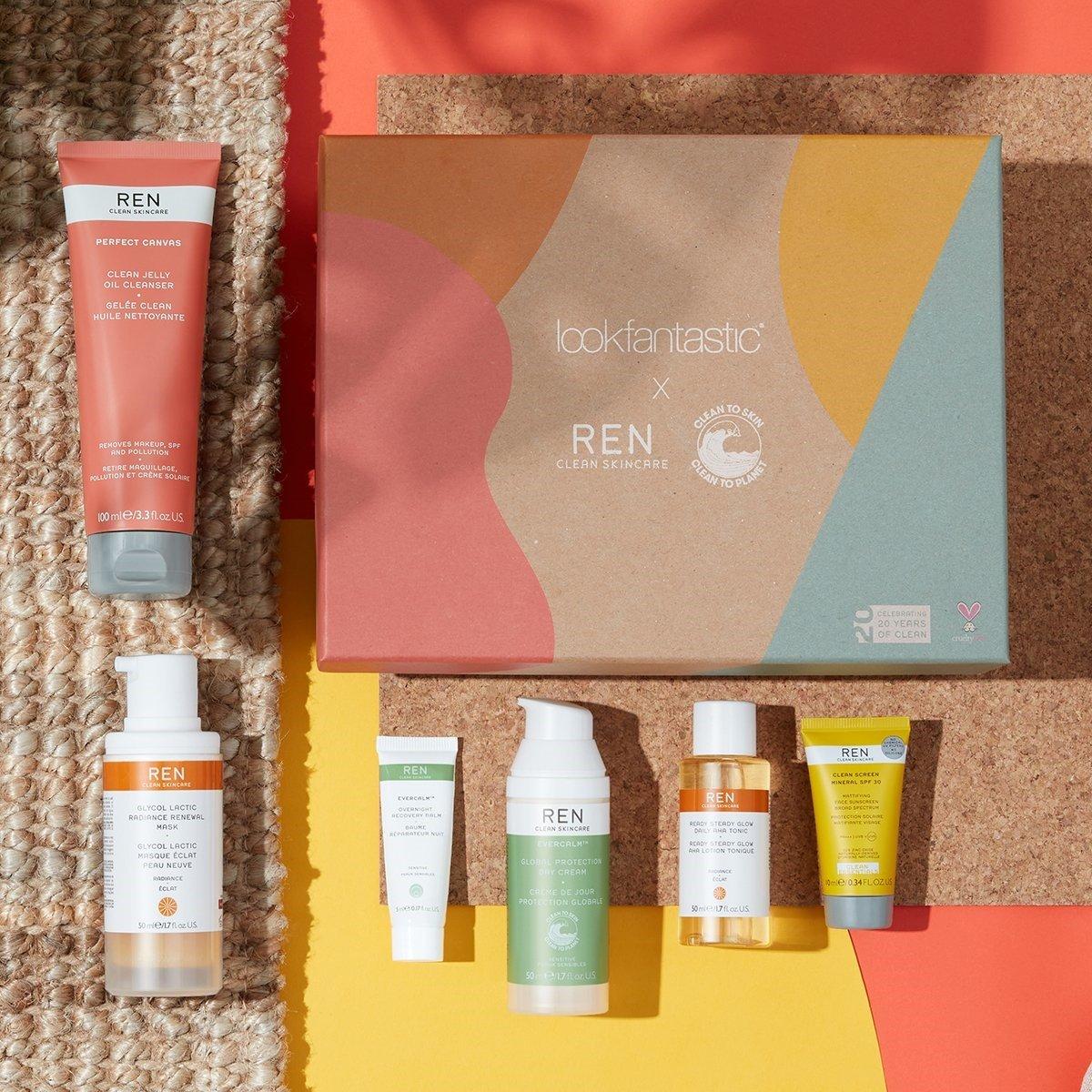 lookfantastic x REN Beauty Box