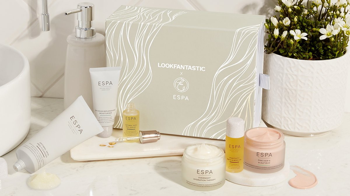 Ontdek 'LOOKFANTASTIC X ESPA Beauty Box'