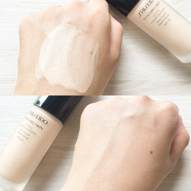 foundation, shiseido, 資生堂, 粉底液, 粉底