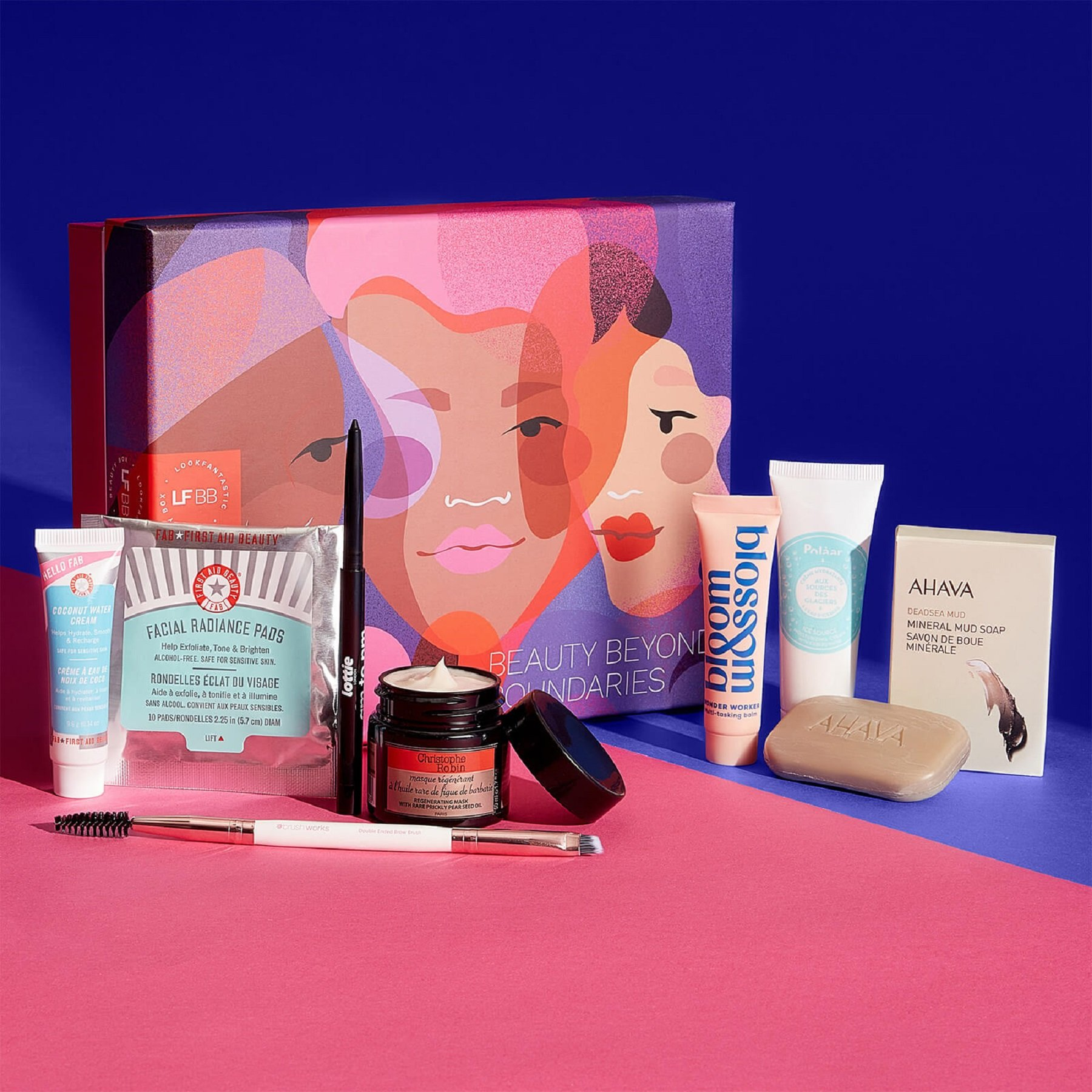 Discover our March 'Beauty Beyond Boundaries' Edition LOOKFANTASTIC Beauty Box