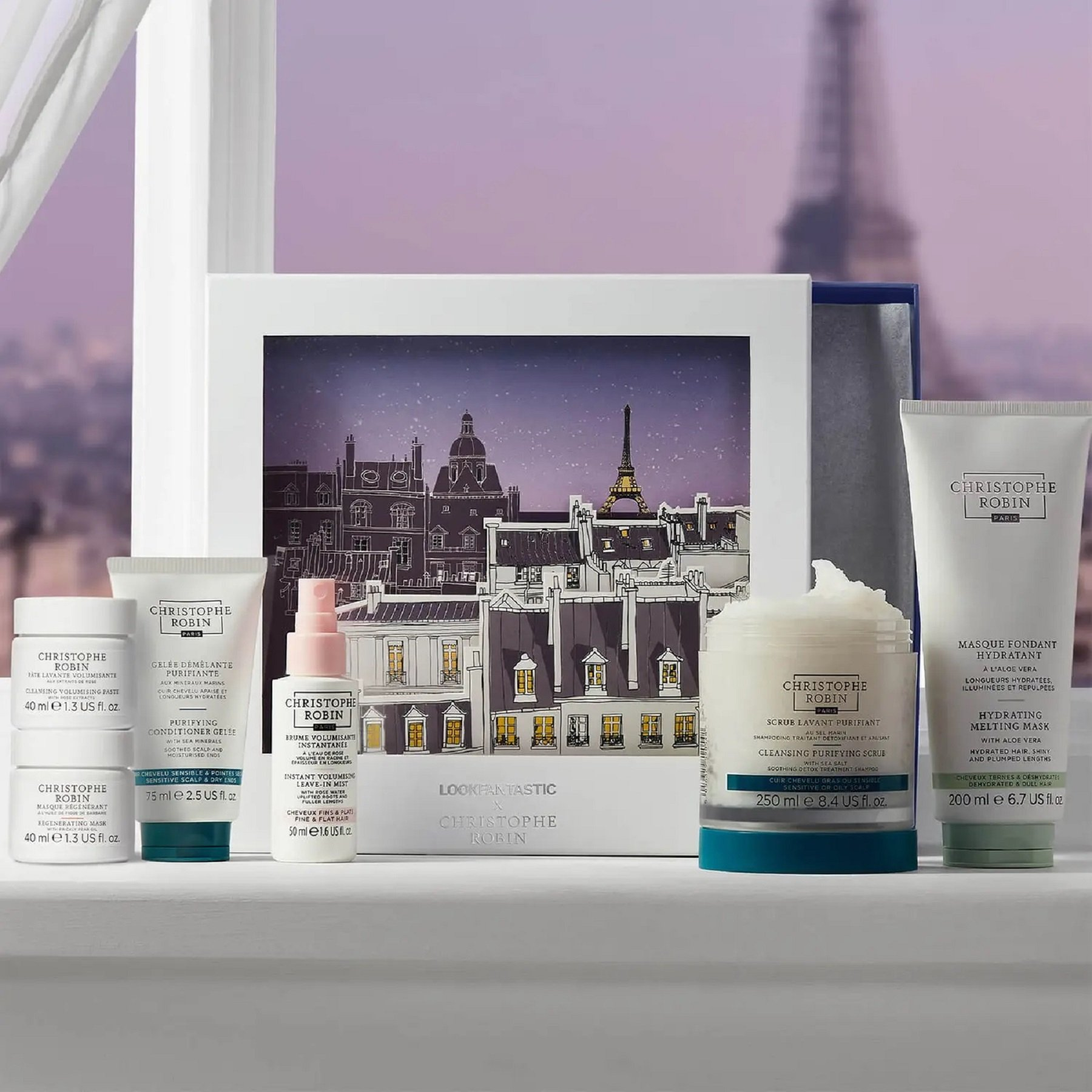 Discover LOOKFANTASTIC X Christophe Robin Limited Edition Beauty Box