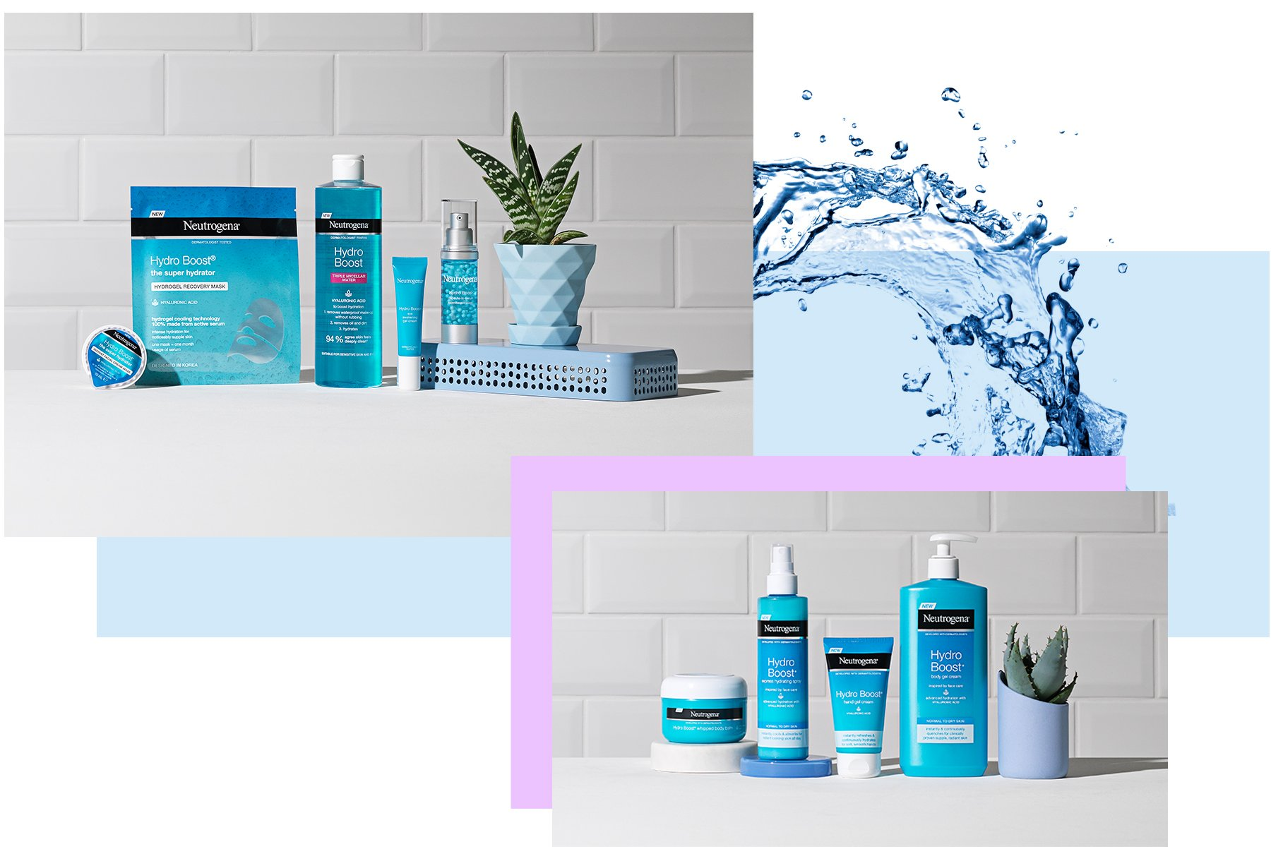 neutrogena hydro boost products for dehydrated skin