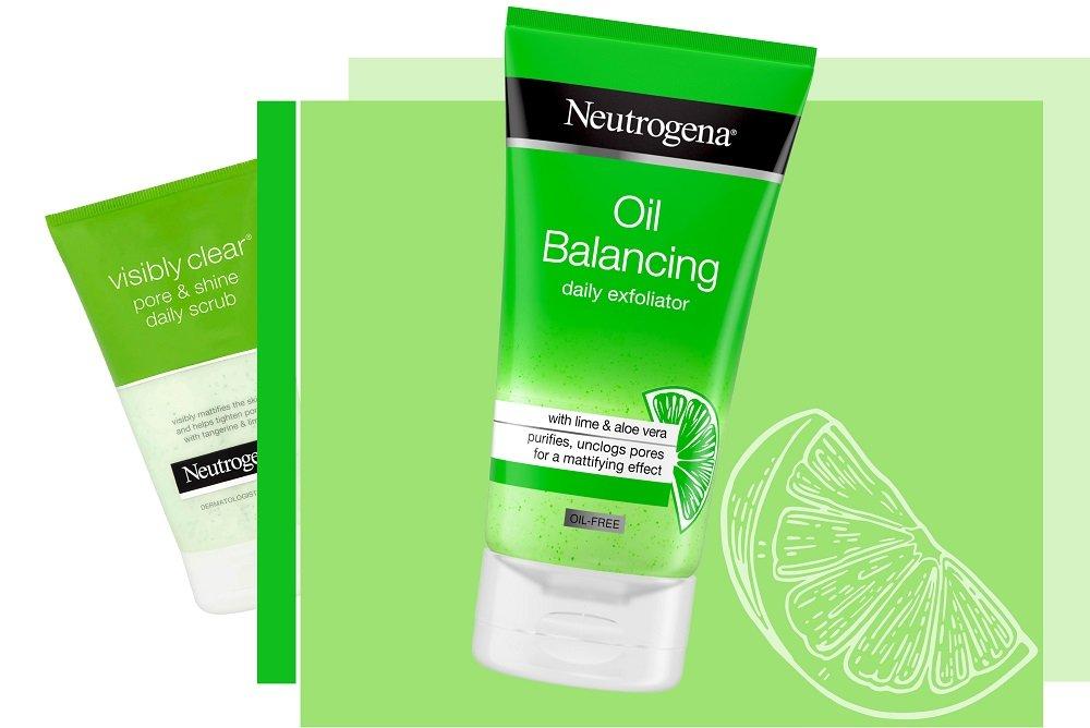 neutrogena oil balancing neutrogena pore and shine
