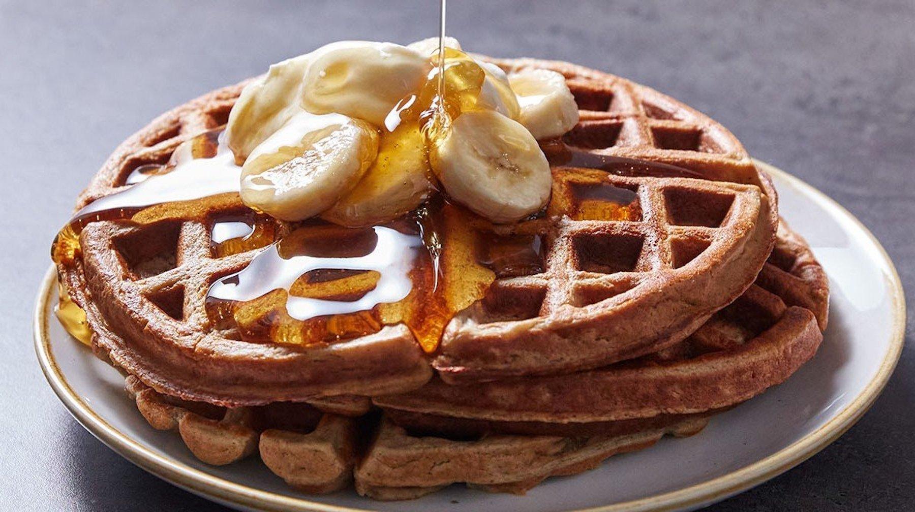 Marino Katsouris Proteinvåfflor | Ett läckert frukostrecept