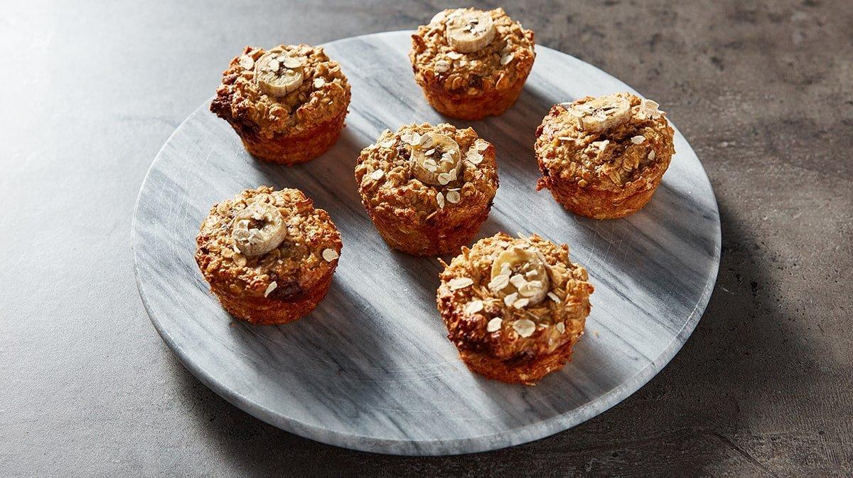 Bananbröd | chokladfyllda muffins