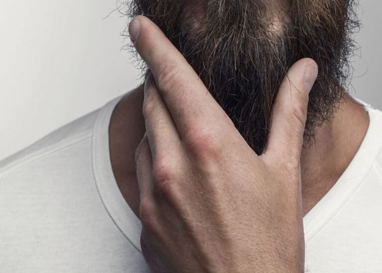 how to shave a coarse beard