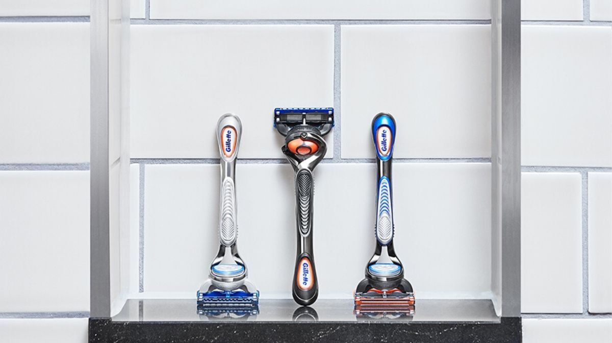 Gillette's shave club razors