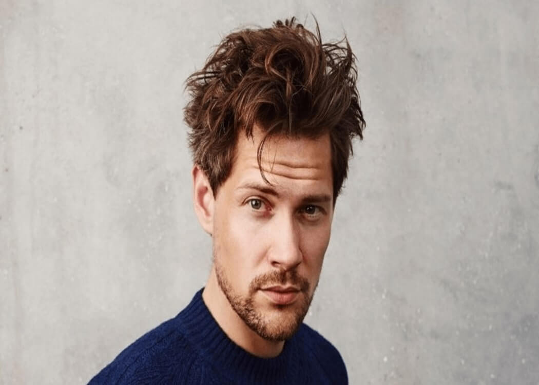 man with a circle beard or goatee beard