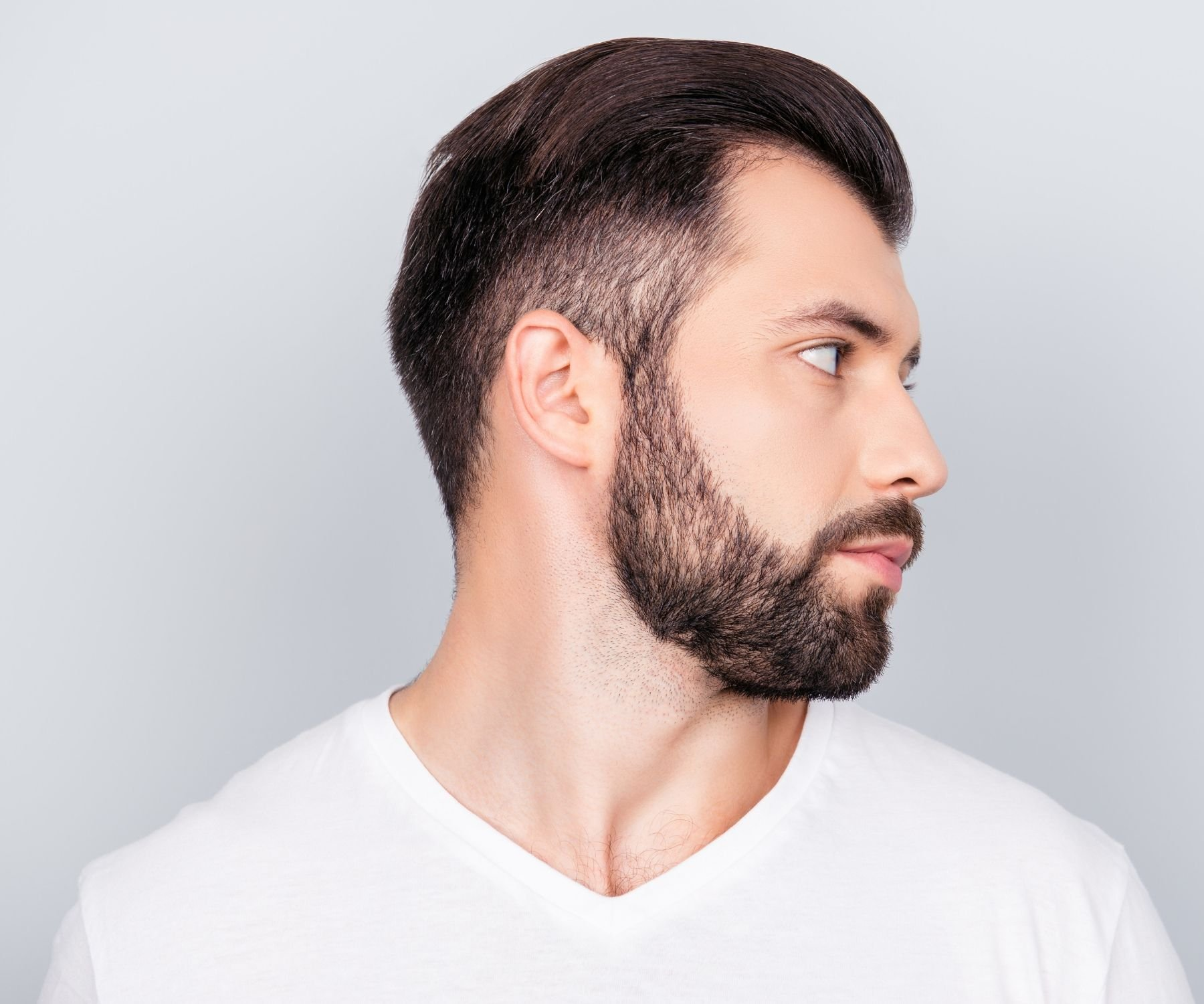How to Shape a Beard Neckline