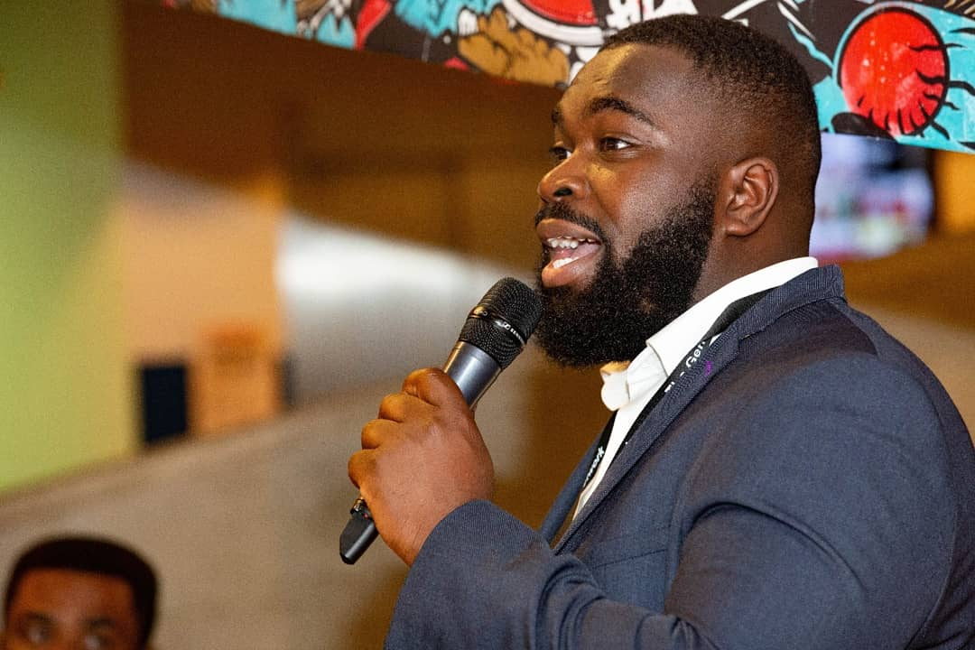 David Agyemang hosting Made Men 2018 for The Gentlenmen's Network