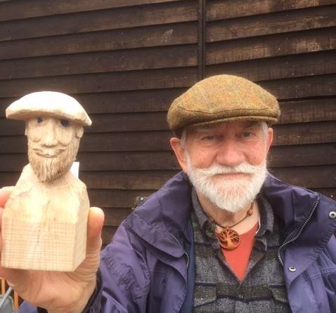 Henry Gowman, UK Men's Sheds Association ambassador.