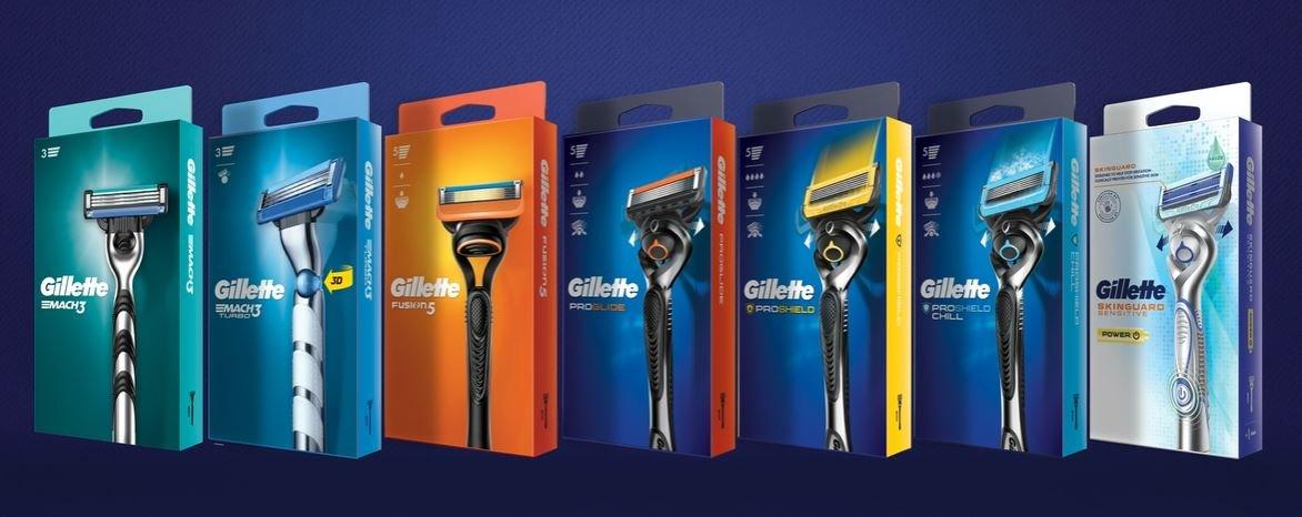 Gillette führt komplett wiederverwertbare Verpackung für Systemrasierer ein | Gillette DE
