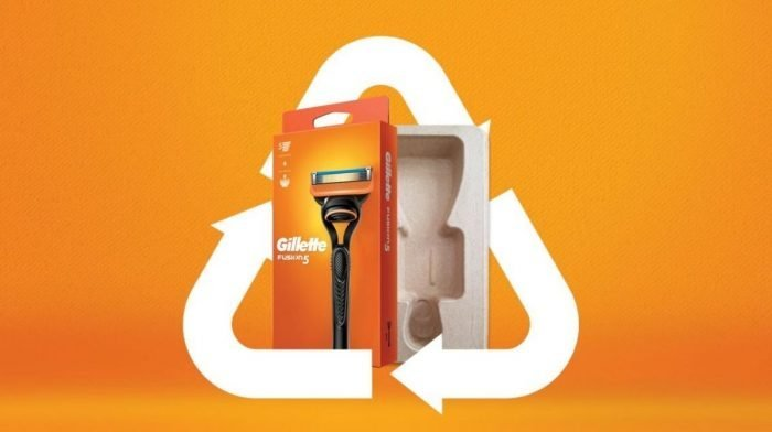 Gillette Innovates with Sustainable Cardboard Packaging