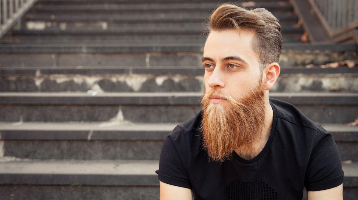 man with a full beard