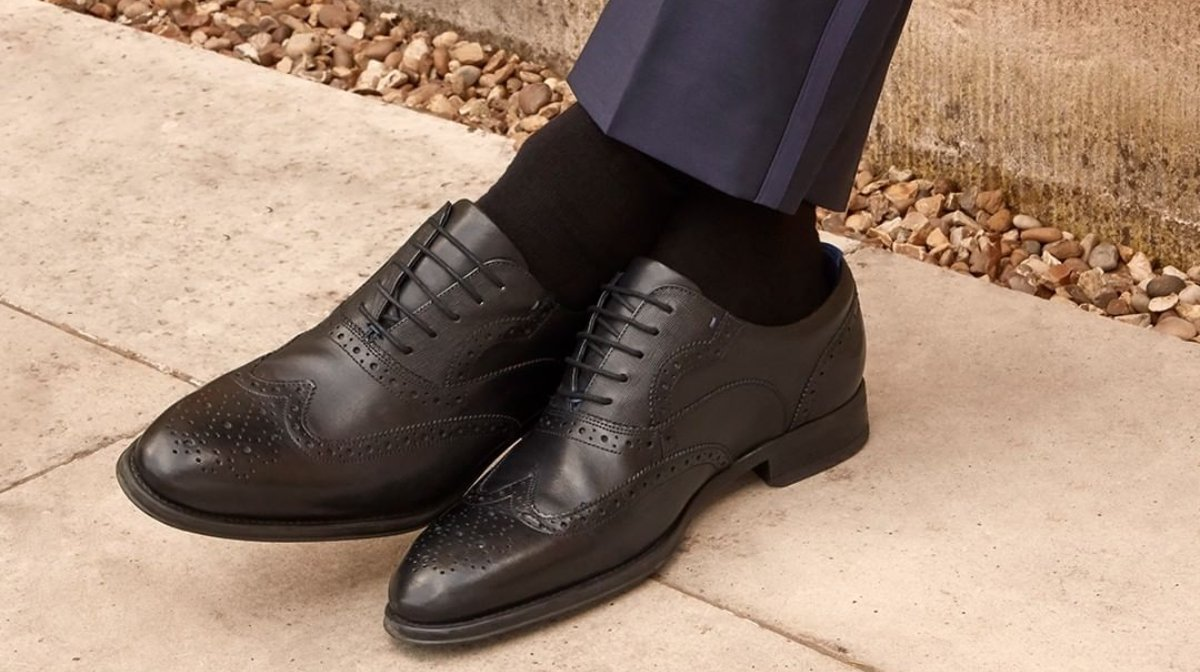 4 Ways To Style Brogues With Ted Baker