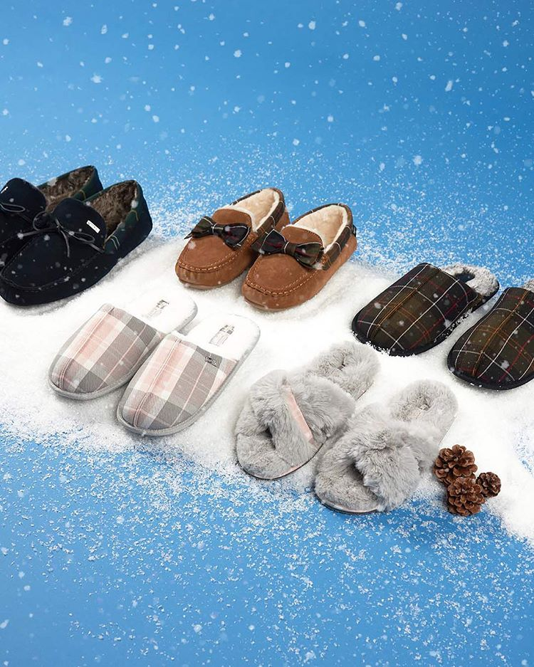 @barbour slippers