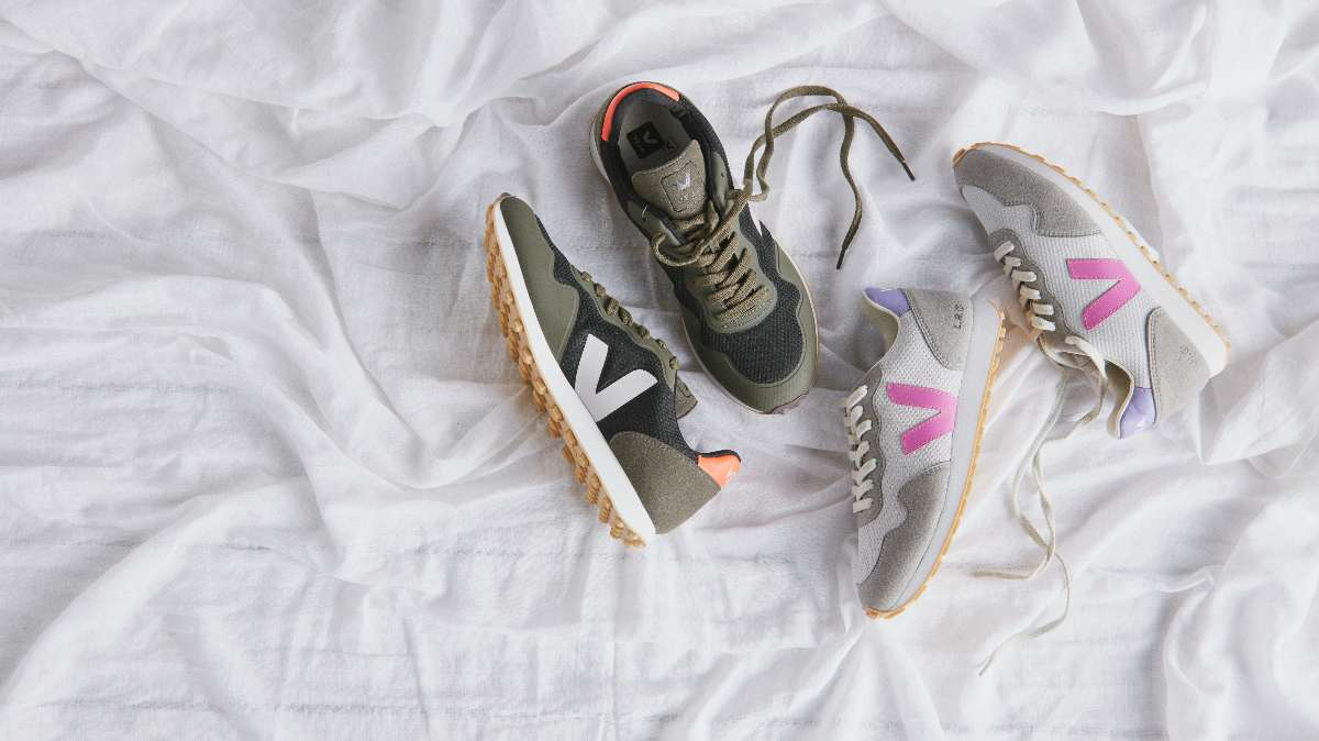 Veja mens and womens trainers