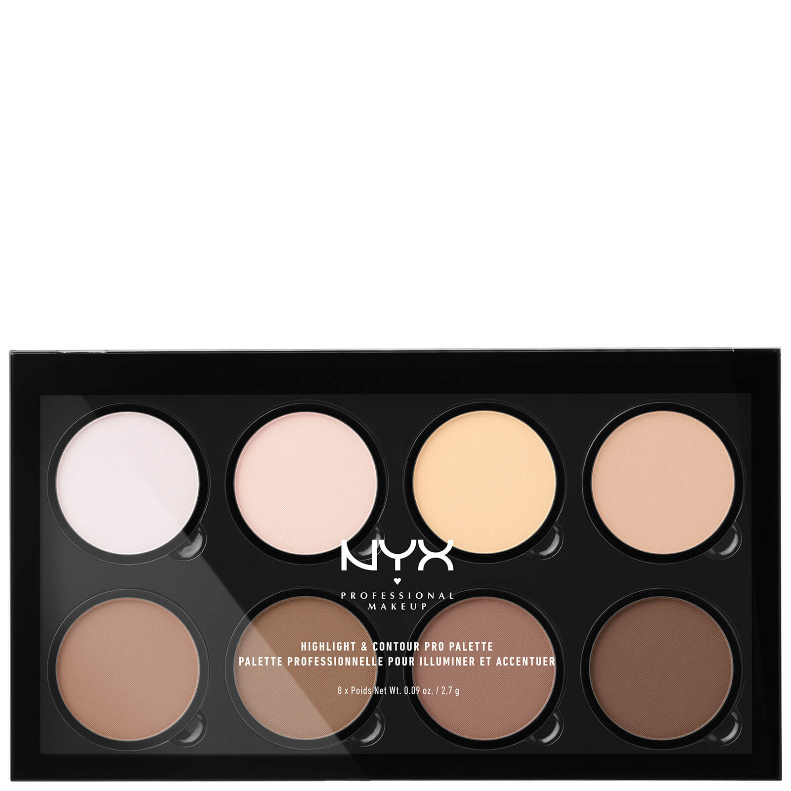 Style with attitude: NYX Professional Makeup Highlight & Contour Pro Palette