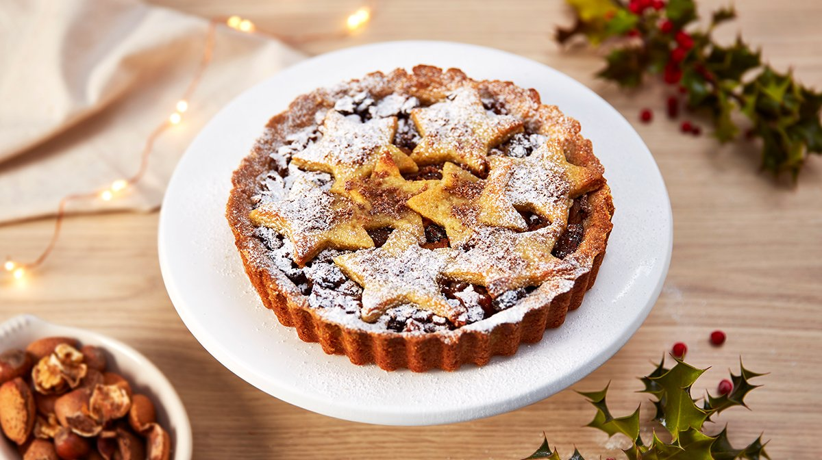 Giant Vegan Mincepie Tart Recipe