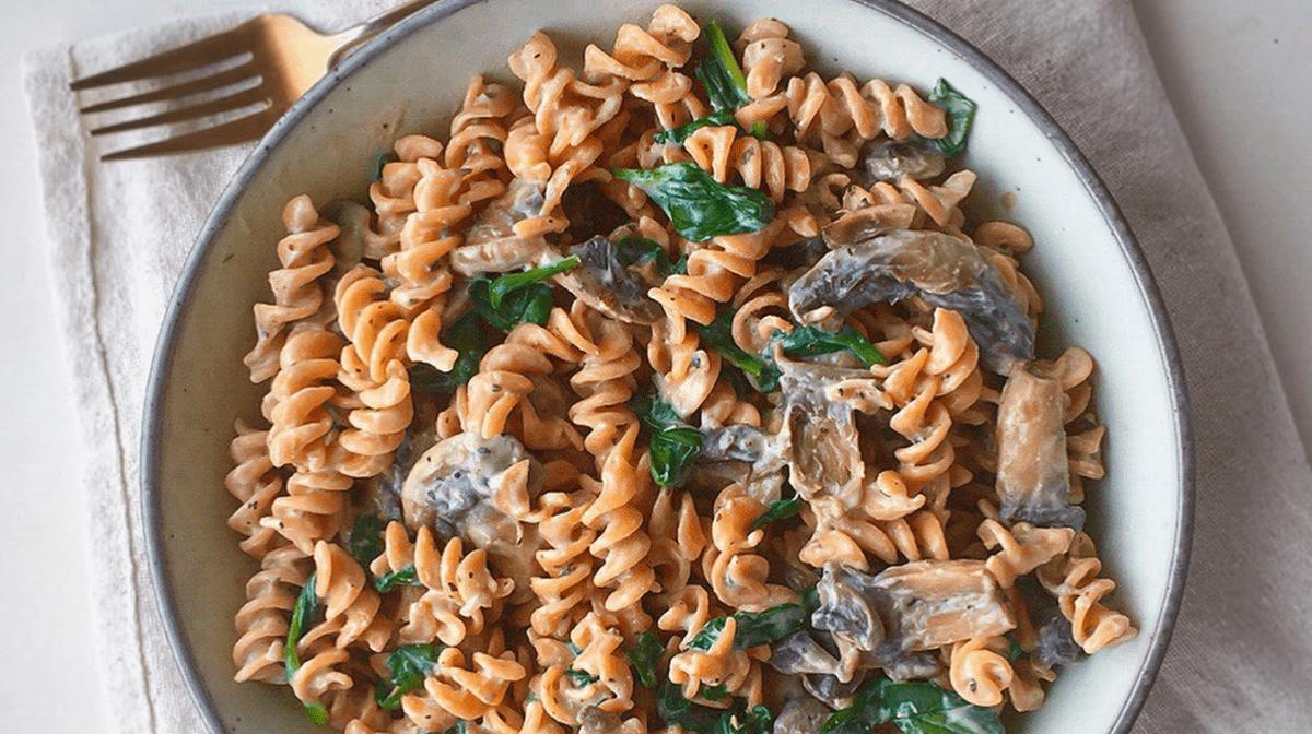 Alex's Creamy Garlic & Mushroom Pasta Recipe