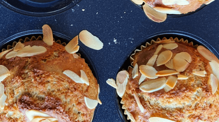 Maria's Vegan Almond & Chocolate Protein Muffins