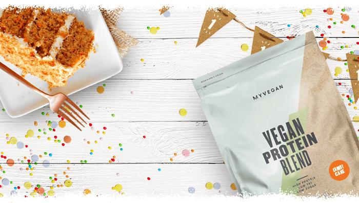 Carrot Cake Vegan Protein Blend